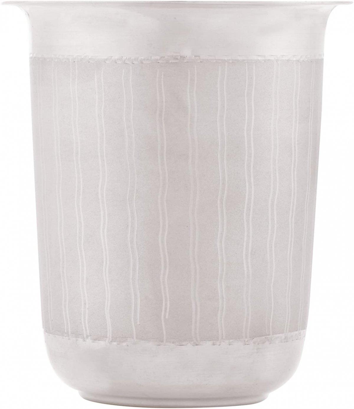 Silver Baby Glass - Teddy Bear Design - 90%-92.5% Pure BIS Hallmarked