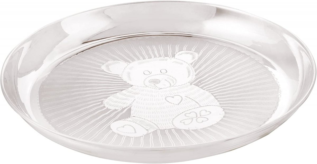 KIDS LUNCH PLATE 925 SILVER
