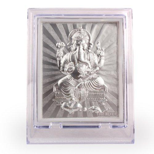 Ganesha Silver Artwork Photo Frame