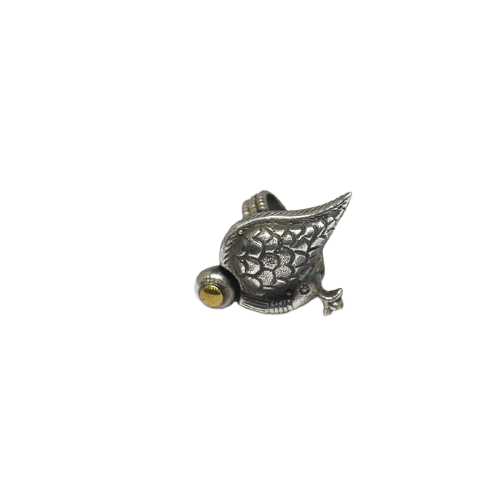ADJUSTABLE PEACOCK  WOMENS ANTIC SILVER RING