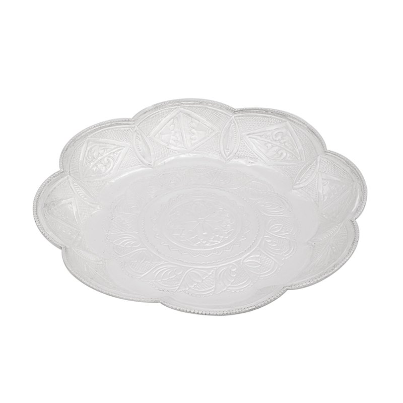 925 PURE SILVER LOTUS NAGAS PLATE PURE SILVER