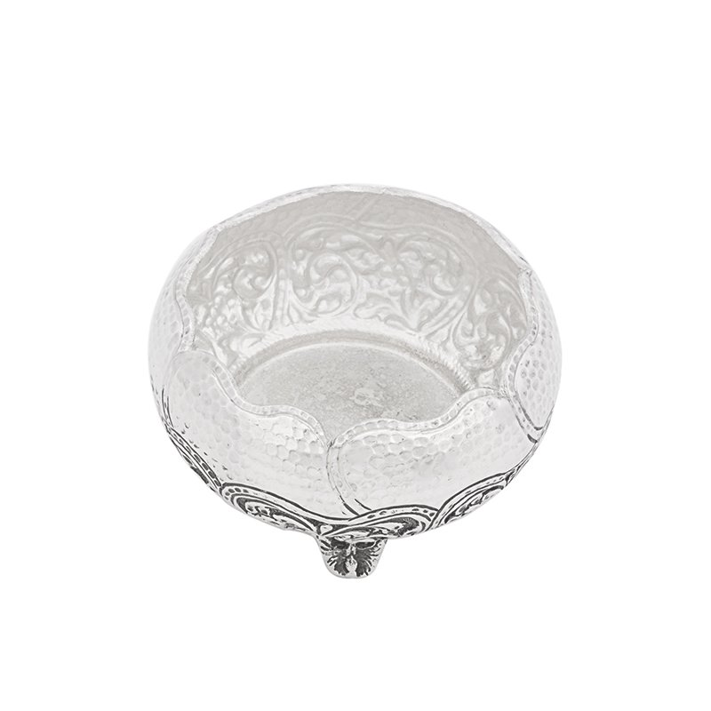 92.5 ANTIC ENGRAVED OXIDIZED DISH BOWL FOR MULTI PURPOSE