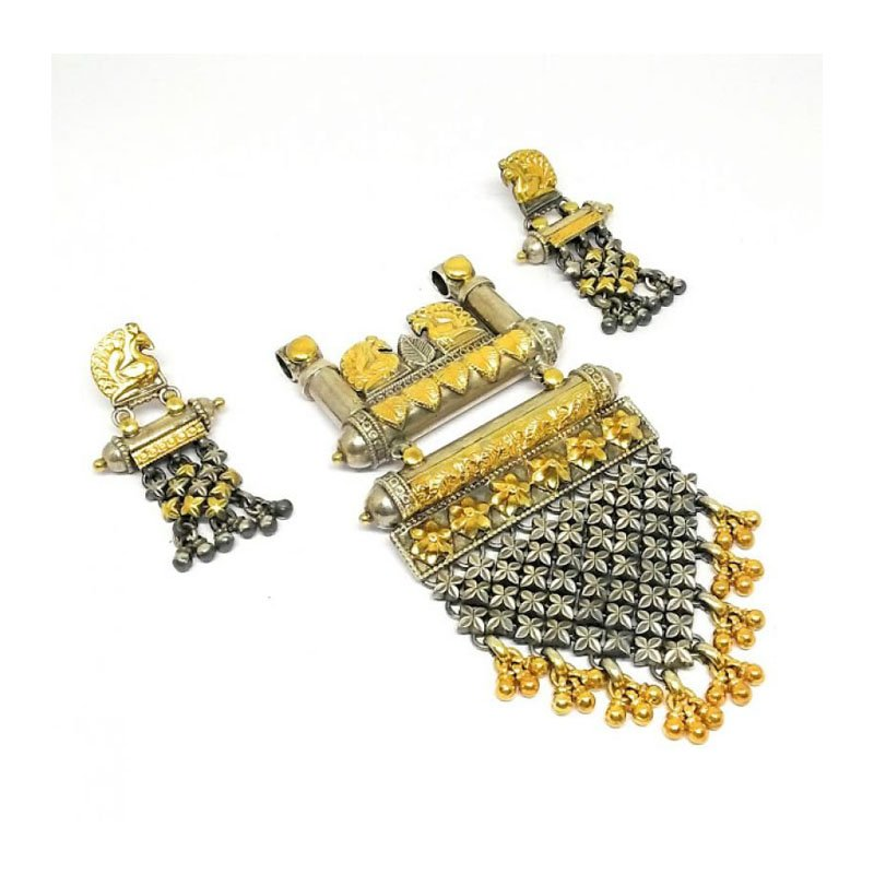 ANTIQUE SILVER EARRINGS FOR PRINCESS
