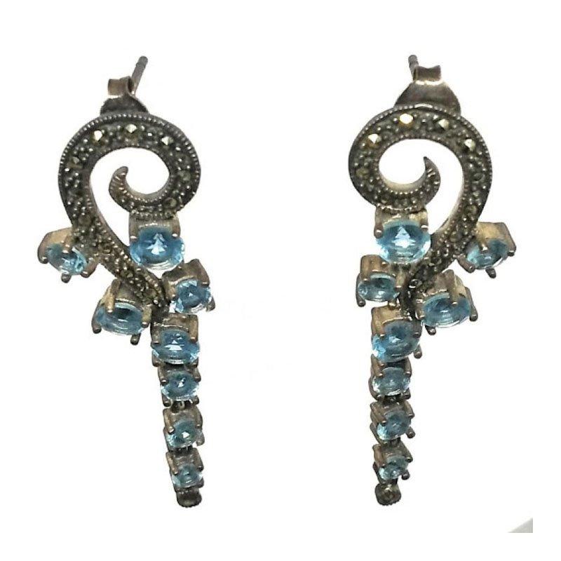 Traditional Silver Jhumki Jhumka Earrings for Women