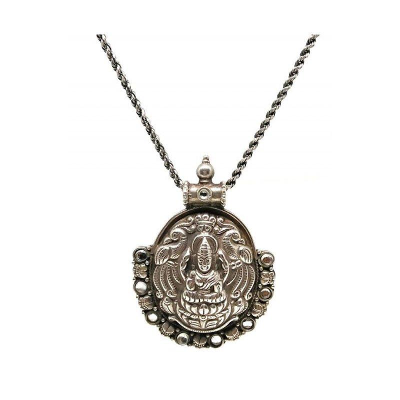 Maa Lakshmi pendant for girls stylish