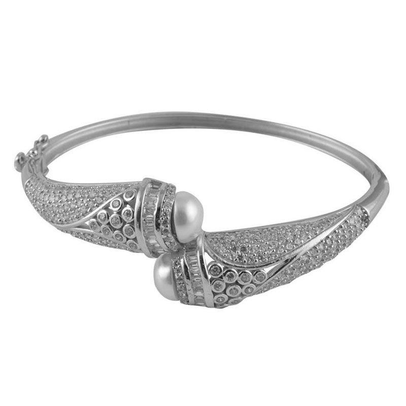 Oxidised Kada (Bracelet Bangle) for Women and Girls (Flexible)