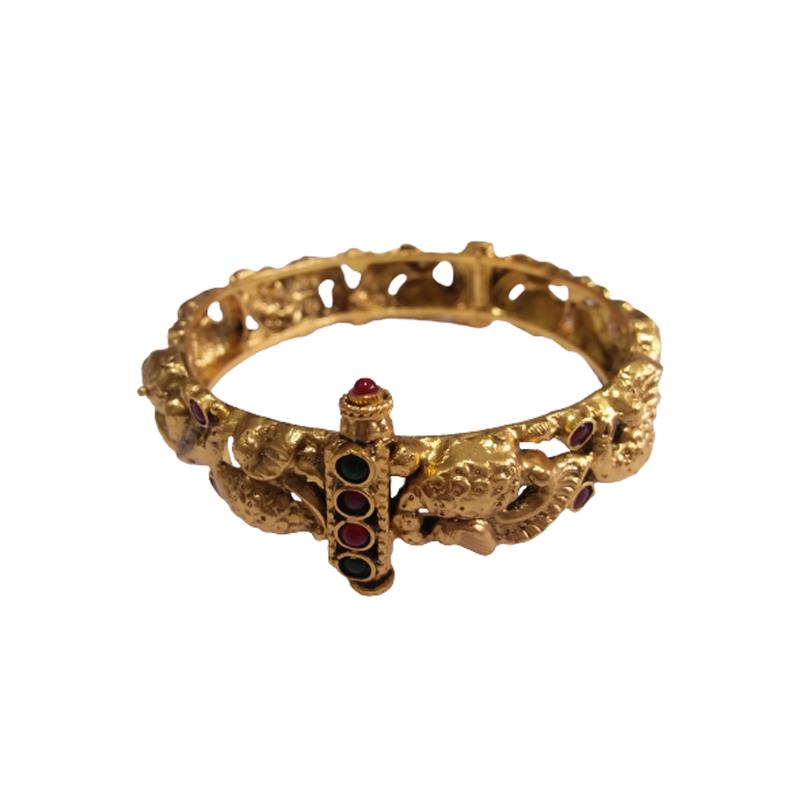 TRADITIONAL  STYLLISH FANCY GOLD BANGLE FOR WOMEN