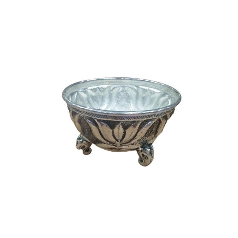 Antique Silver Pooja Bowl