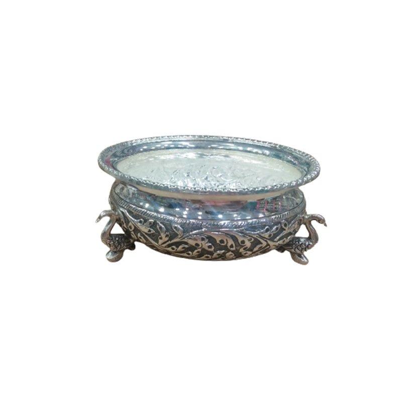 silver pooja bowl