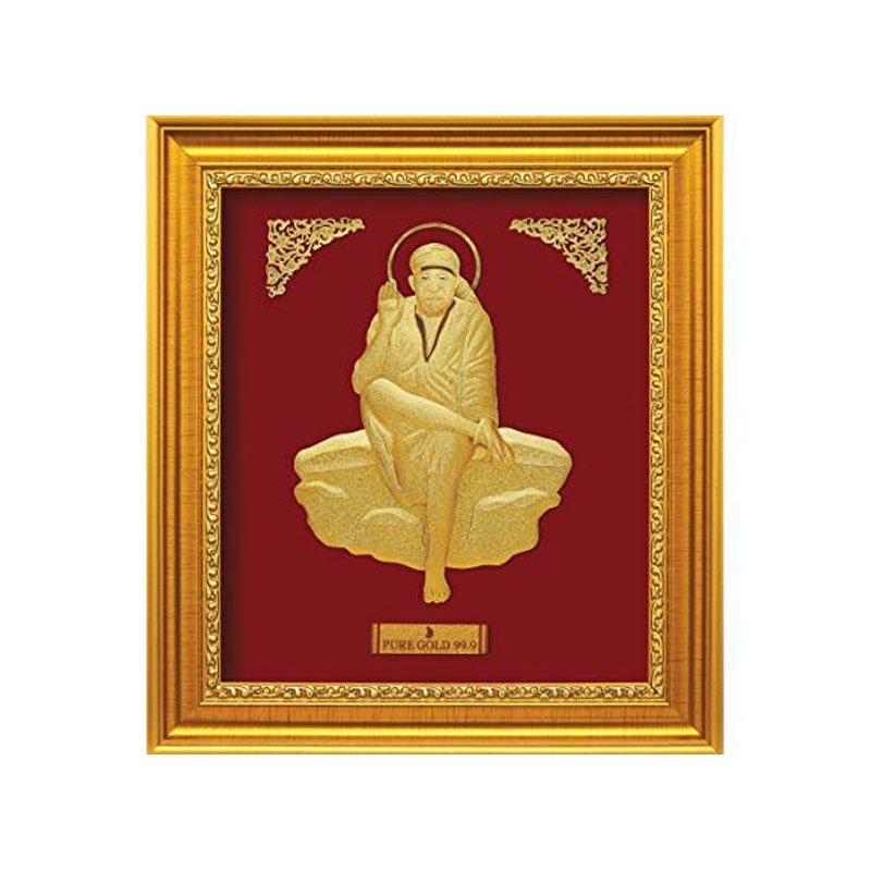 Pure Gold Artwork – Saibaba