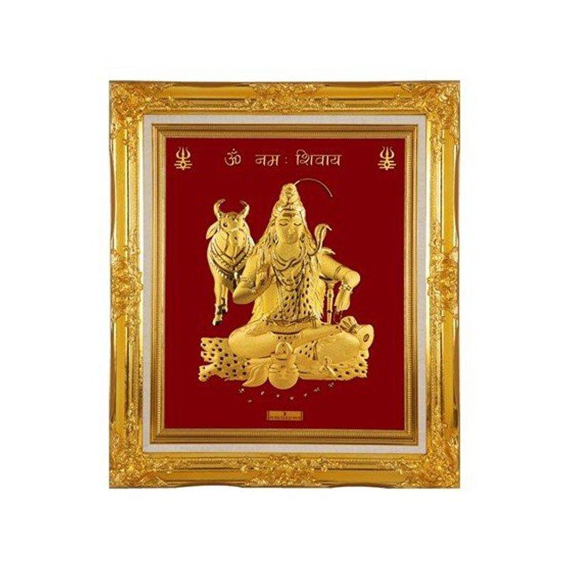 Pure Gold Artwork – Shiva