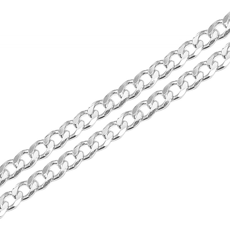 92.5 Sterling Pure Silver chain for Men & boys, Length