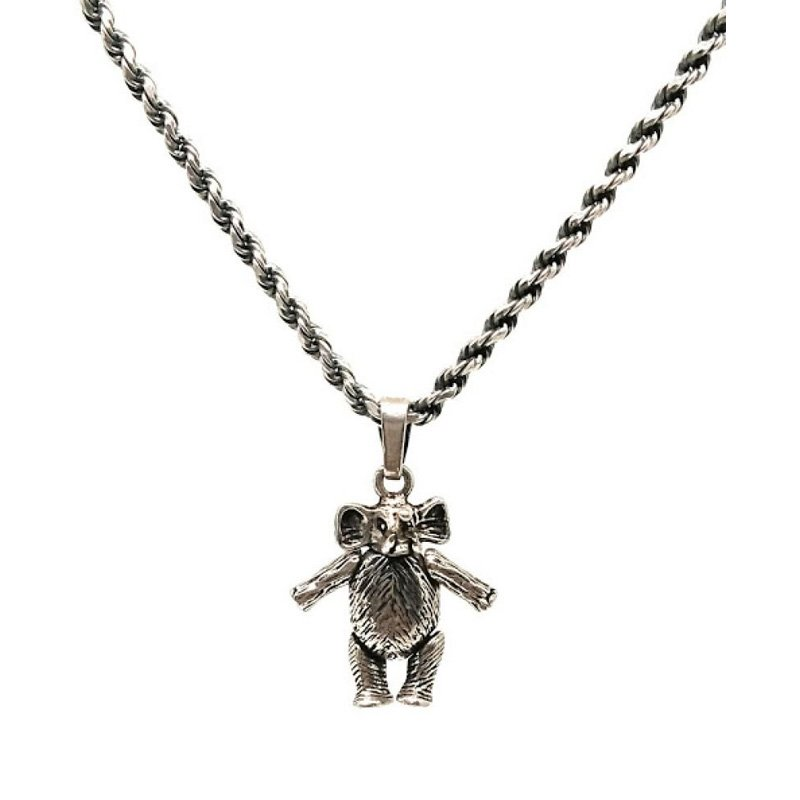 Elepant silver chain for boys