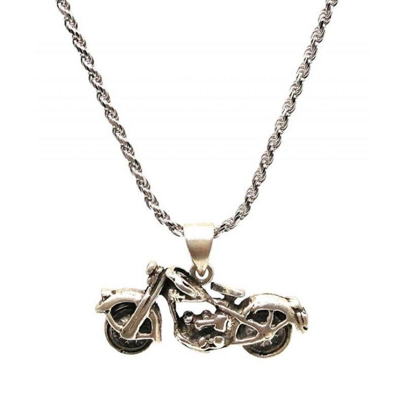 Bike silver chain for men
