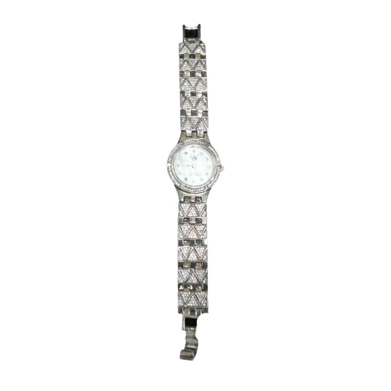 PURE SILVER LADIES WATCH White Dial Watch for girls & women