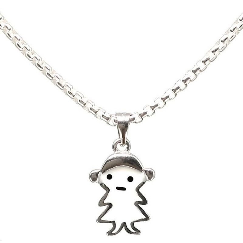 Silver Chain for Kids