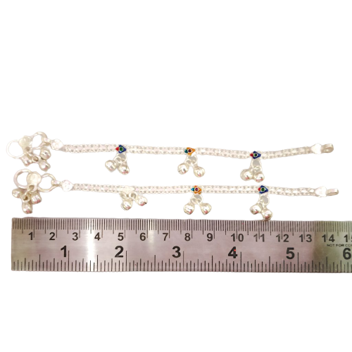 925 SILVER  ANKLETS FOR BABY