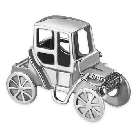 92.5 PURE SILVER MINIATURE VINTAGE CAR FOR KIDS