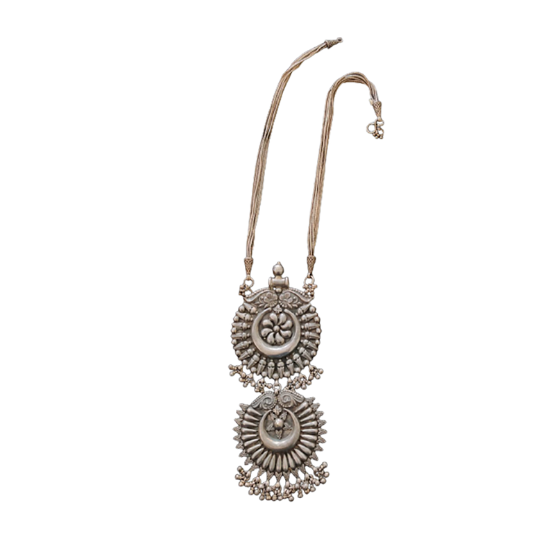 OXIDIZED PENDANT NECKLACE FOR OFFICE WEAR ,PARTY WEAR FOR GIRLS