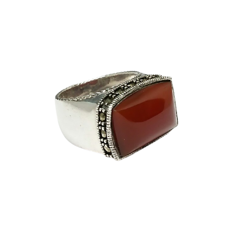 925 OXIDIZED SILVER RING FOR WOMEN