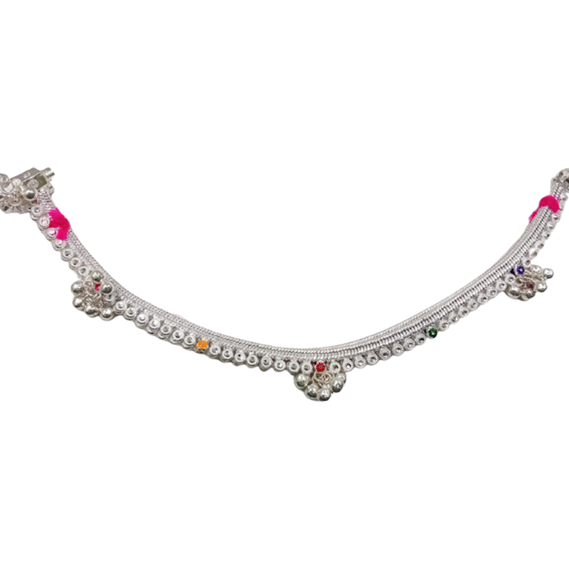 92.5 SILVER ANKLETS  FOR WOMEN & GIRLS
