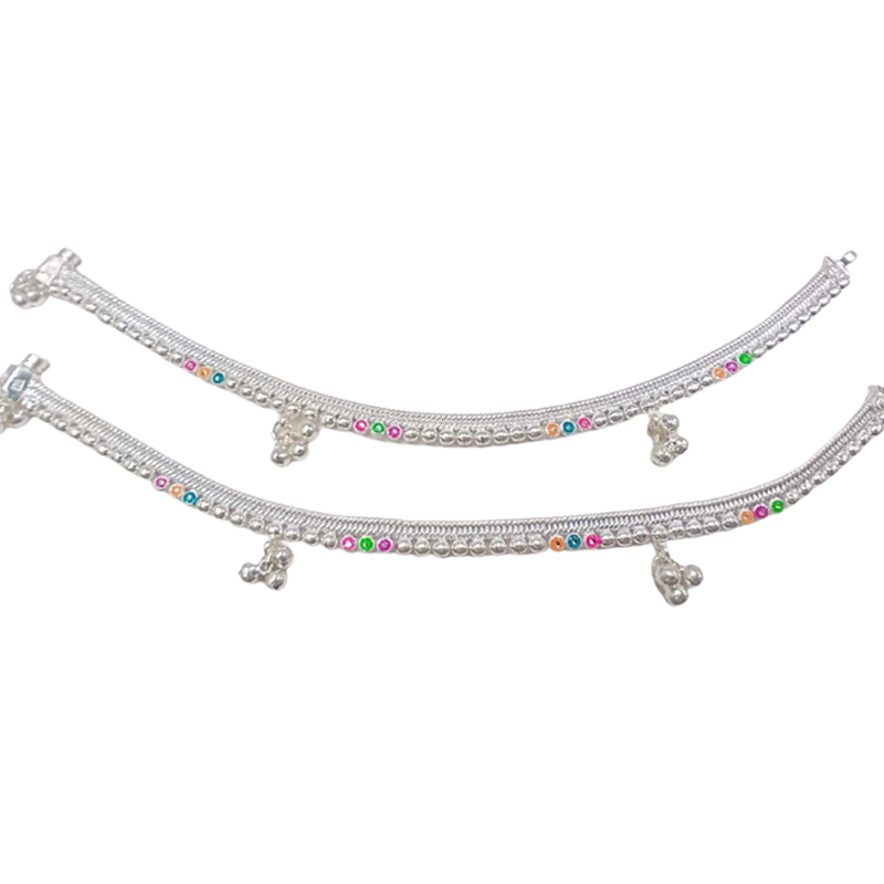 92.5 SILVER ANKLET FOR WOMEN