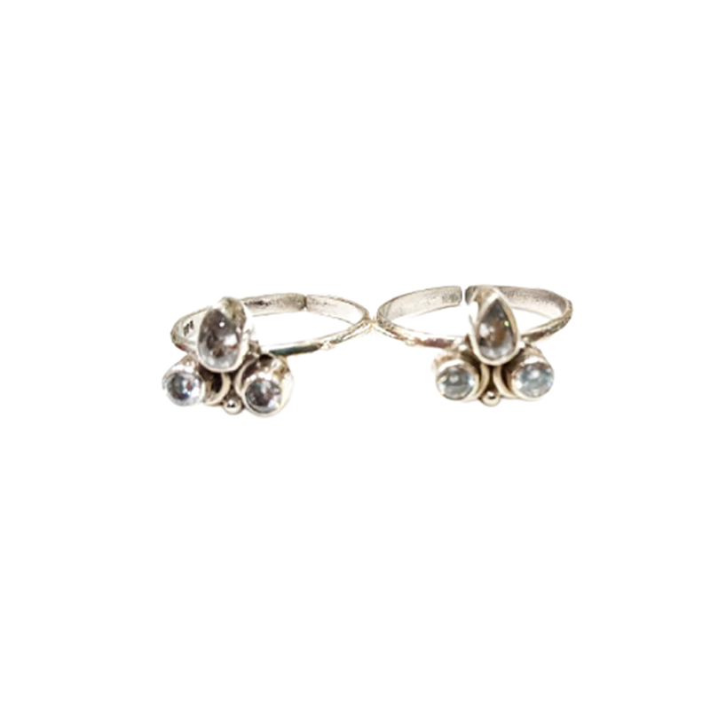 92.5 STERLING SILVER TOE RING FOR GIRLS