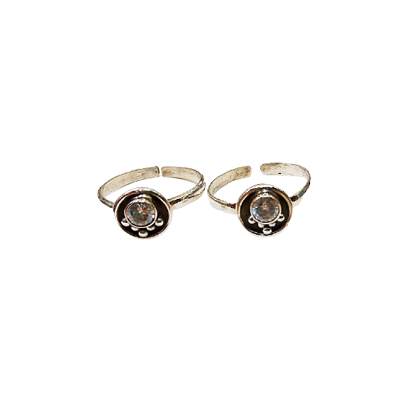 92.5 SILVER TOE RING FOR WOMEN