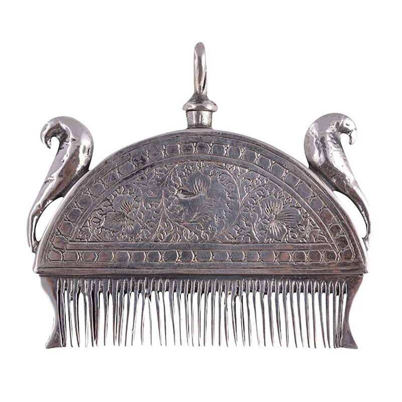 925 OXIDISED SILVER COMB FOR WOMEN & GIRLS