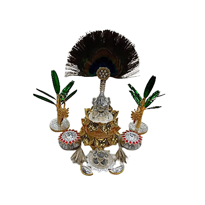 SILVER POOJA DECORATIVE POOJA ITEMS FOR HOME
