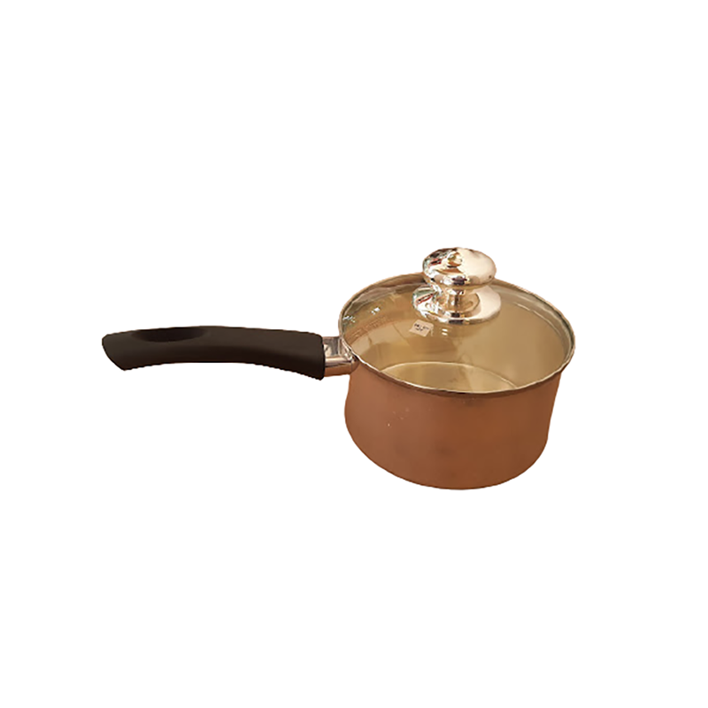 92.5 SILVER MILK PAN COOKWARE WITH HANDLE