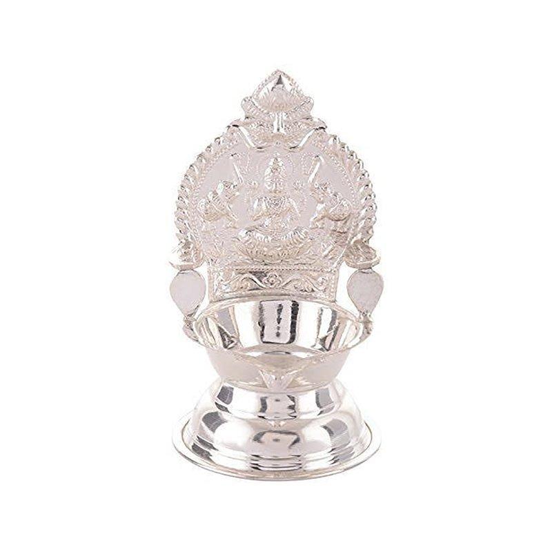PURE SILVER KAMSKDHI DEEPAM LAMP FOR HOUSEWARMING GIFT