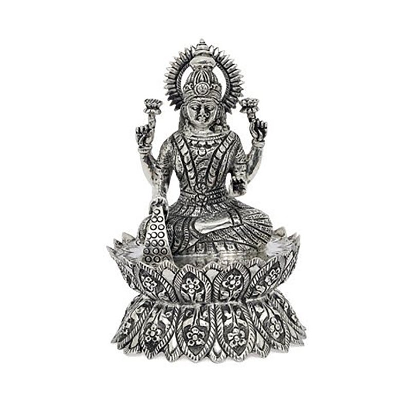925 PURE SILVER SARASWATHI STATUE FOR GIFT /POOJA /HOME