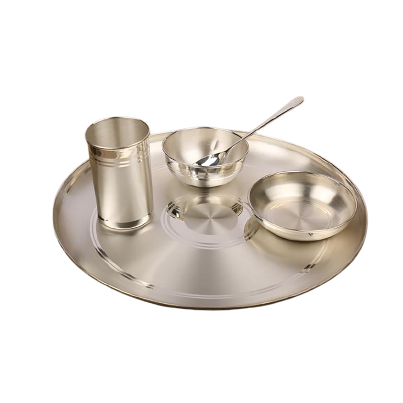 92.5 PURE SILVER DINNER SET FOR GIFT