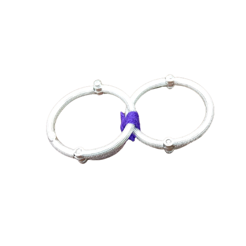 92.5 SILVER PLAIN BABY ANKLET