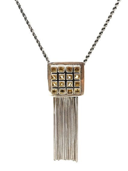 92.5 OXIDIZED SILVER  LOCKET WITH CHAIN  FOR GIRLS