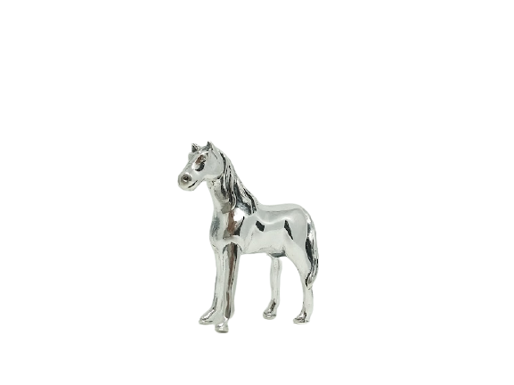 92.5 SILVER ROCKING HORSE BABY GIFT