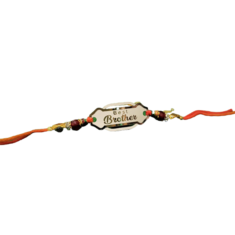 MEN'S PURE SILVER RAKHI FOR BROTHER