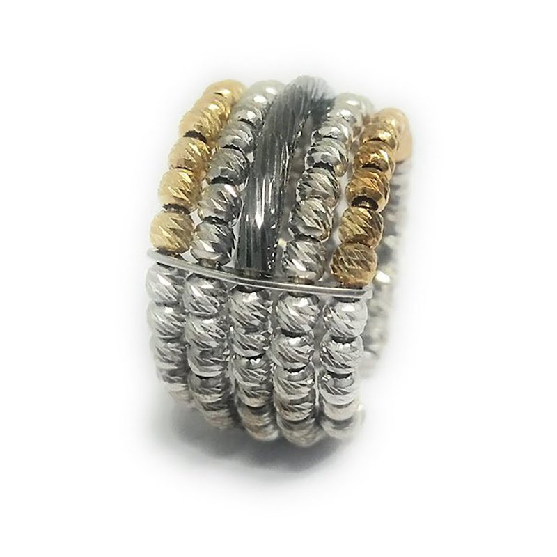 92.5 ANTIC SILVER RING FOR WOMEN
