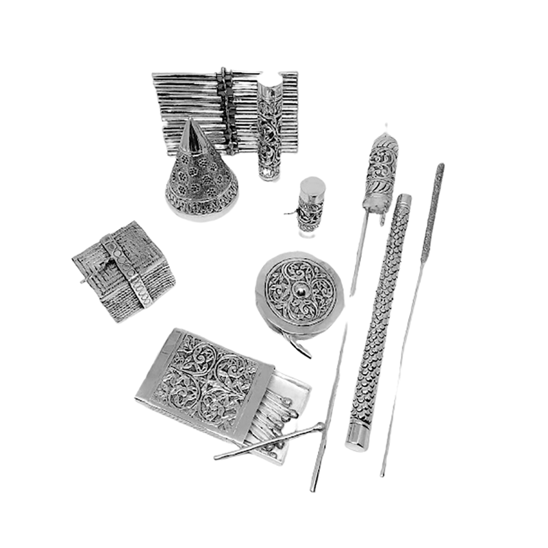 925 SILVER FIREWORKS FOR HOME DECOR