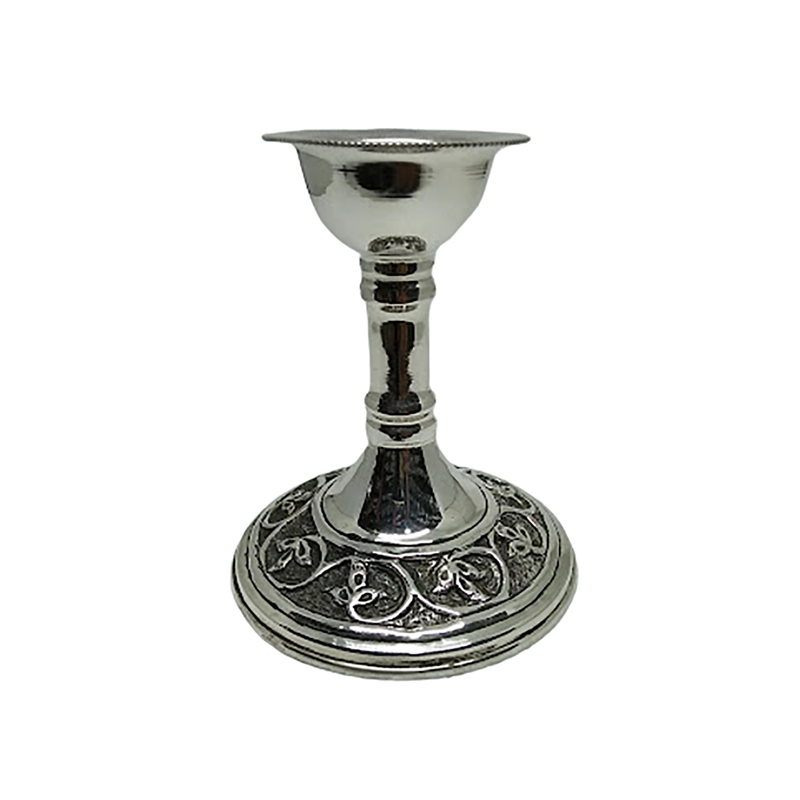 92.5 PURE SILVER CANDLE HOLDER FOR HOME DECORATION