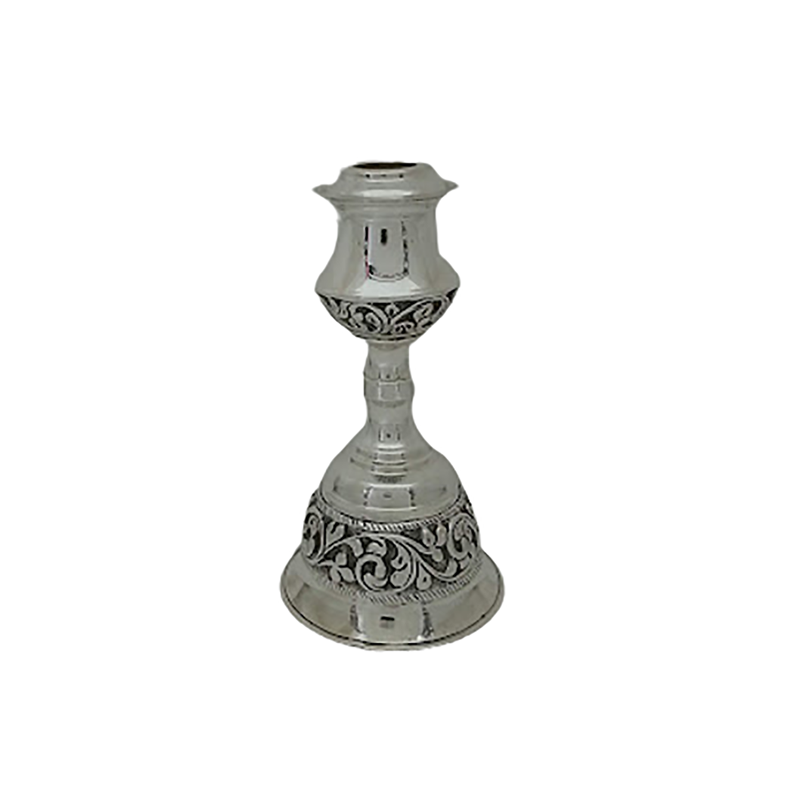 92.5 PURE SILVER CANDLE HOLDER FOR BEDROOM
