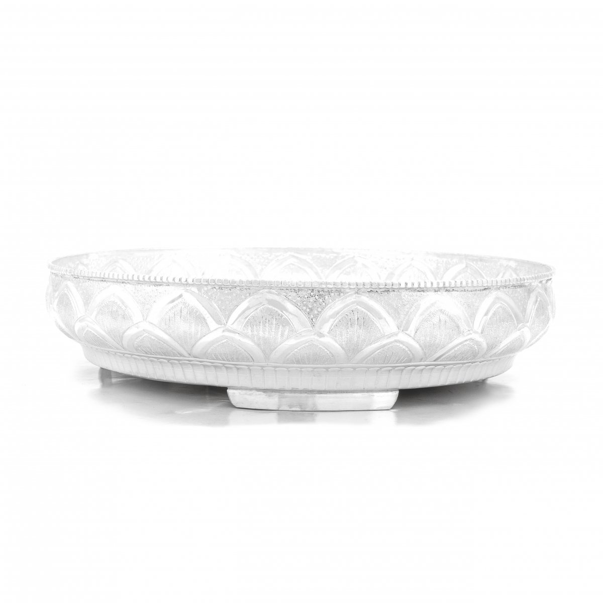 92.5 SILVER  NAGAS DESIGN HAND CRAFTED PLATE