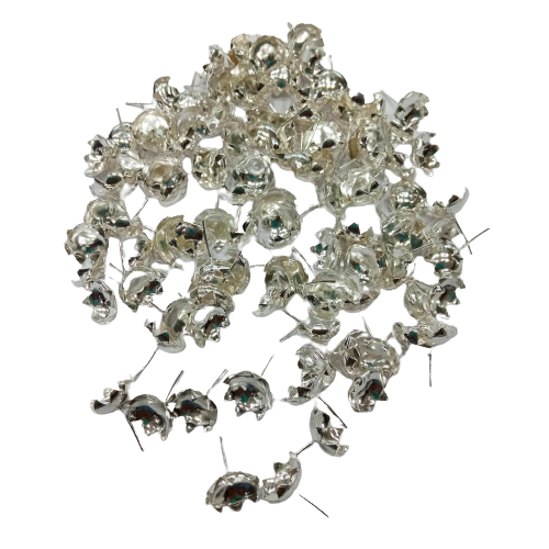 92.5 SILVER LOTUS FLOWERS FOR POOJA