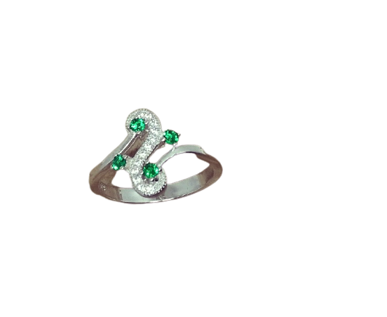92.5 SILVER TRADITIONAL FANCY FINGER RING FOR WOMEN