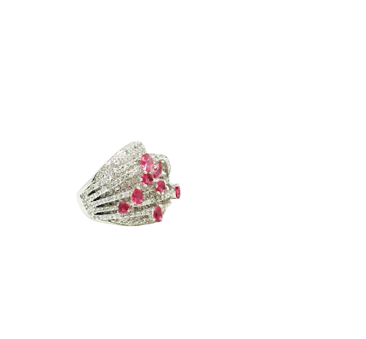 92.5 SILVER TRADITIONAL FASHION RING FOR WOMEN