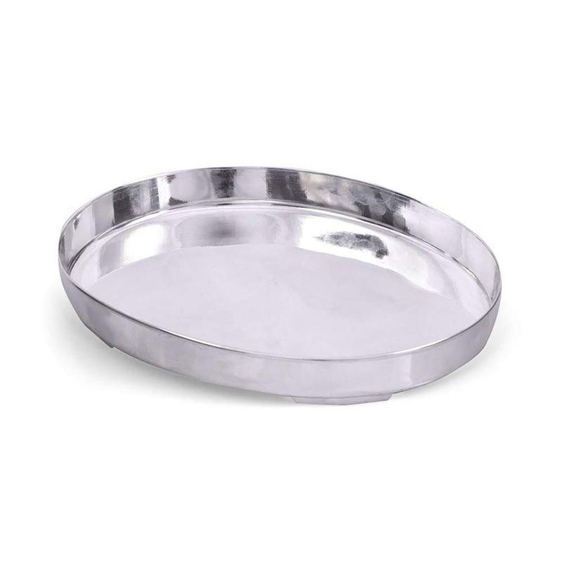 92.5 SILVER OVAL PLAN DINNER PLATE