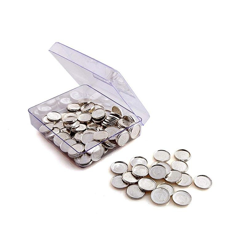 PURE SILVER  POOJA LAKSHMI 108 COINS