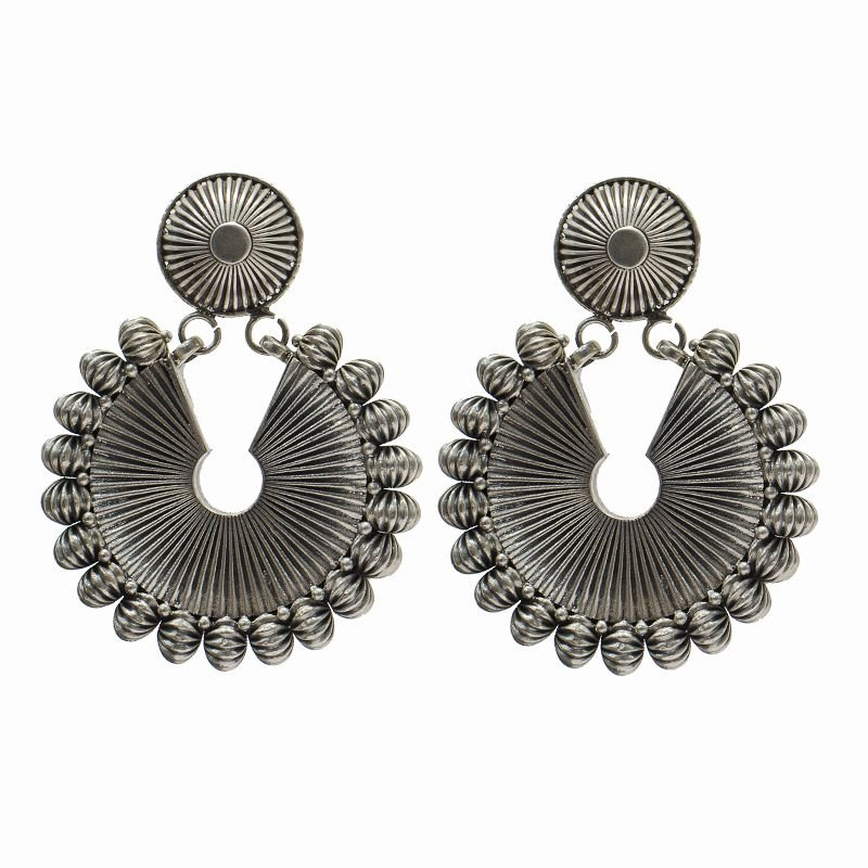 SILVER STATEMENT CHAND BALI FOR GIRLS