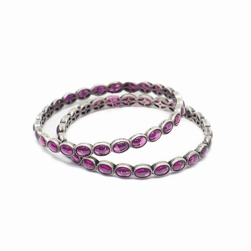 OVAL SPINAL ETERNITY BANGLES